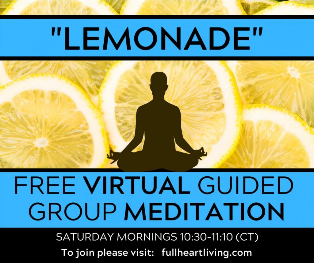 lemonade meditation visual