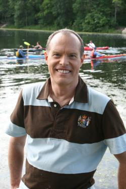 Tom Glaser at the lake